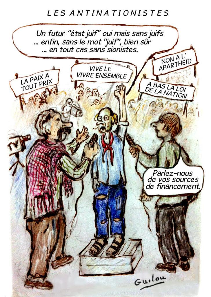 Une caricature de Gérard Darmon